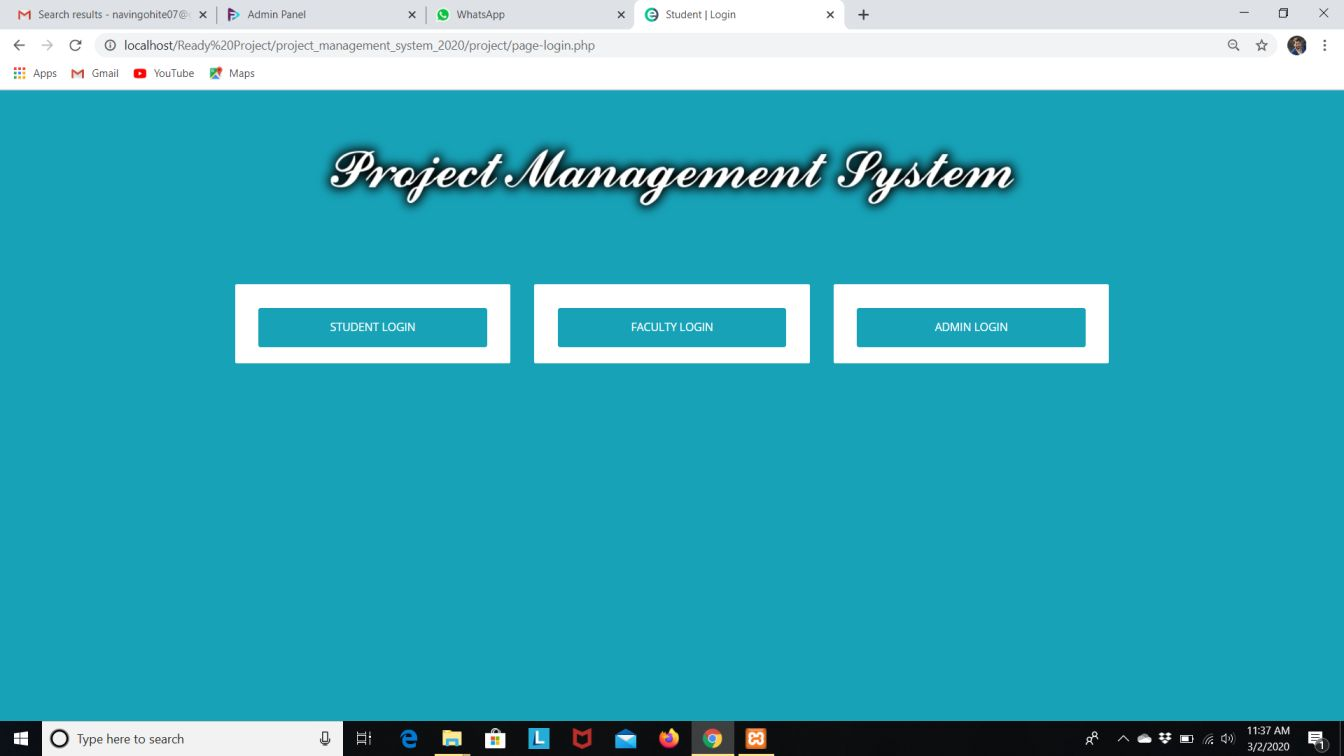 Project Management System in Php with Source code
